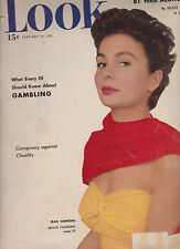 Look Magazine January 16 1951 Jean Simmons Roller Derby TV Awards