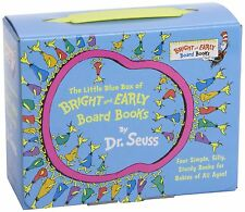 The Little Blue Box of Bright and Early Board Books by Dr. Seuss (Bright  Early
