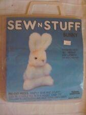 """Sew n Stuff: Bunny Rabbit #9003, Sewing Craft Kit -Talon American, 10"""" x 4 3/4"""""""