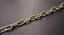 """1/4"""" x 10' G70 Bulk Chain for Binder Tie Down Flatbed Truck Trailer Safety Chain"""