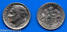 USA 10 Cents 1967 No Mint Dime Cent US United States America Paypal