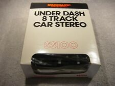 NOS UNDER DASH MOUNT 8 TRACK PLAYER ( NEW )