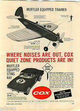 1966 ADVERT Cox Toy Corvette Sting Ray Play Doh Pee Wee Sculptor Fun Factory