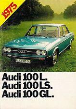 AUDI 100 L LS GL C1 Prospekt 1974 ++++++++++++++++++++++++++++++++++++++++++++++