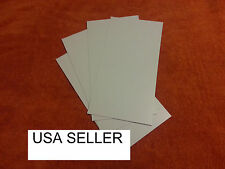 WHITE STYRENE SHEETS (5) .030 (0.7 MM) POLYSTYRENE 0.03 .03 Model grade