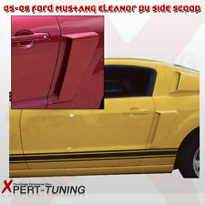 05 06 07 08 09 Ford Mustang EL Poly-Urethane Side Scoop