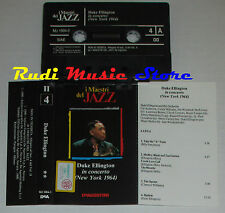 MC DUKE ELLINGTON In concerto maestri del jazz II4 1990 DeAGOSTINI cd lp vhs dvd