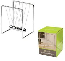 NEWTONS CRADLE KINETIC BALLS EXECUTIVE EDUCATIONAL WORK TOY OFFICE DESK GIFT