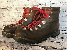 Vintage RICHARD PONTVERT GALIBIER Men Brown Hiking Boot Made in France US 10.5