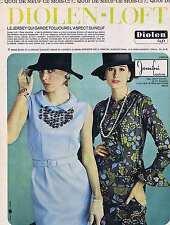 PUBLICITE ADVERTISING 1965 035 DIOLEN-LOFT le jersey qui garde l'aspect du neuf