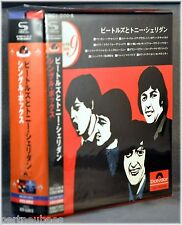 The BEATLES w/Tony SHERIDAN JAPAN Singles BOX Set 9 Mini Sleeves SHM CD NEW