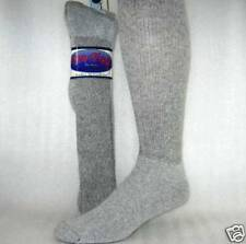 Mens Socks over the calf gray size 10-13 12 Pr