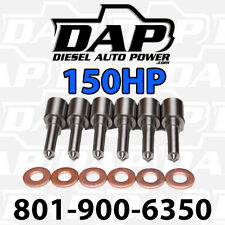 (6) 150HP NOZZLES FITS DODGE RAM CUMMINS DIESEL 1998-2002 injectors VP44 150 HP