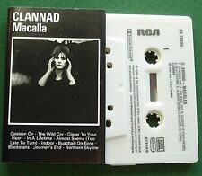 Clannad Macalla inc Journey's End & Northern Skyline + Cassette Tape - TESTED