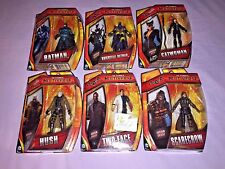 6x DC COMICS MULTIVERSE Scarecrow / Arkham Knight / Two Face / Catwoman / Hush +