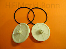 2X Philips   CDM4   Zahnrad  -  gear wheel  CD604  CD614  CD618 CD480 MIT RIEMEN