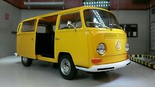 G LGB VW Bay T2 Giallo Bus Motorhome Furgone camper Welly 1:24 Scala Modellino