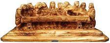 """OlivArt Grade A Olive Wood Carving """"The Last Supper"""" - Holyland, Israel - JESUS"""
