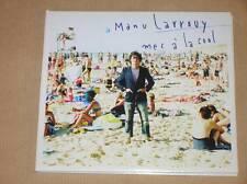 RARE CD + DVD PROMO / MANU LARROUY / UN MEC A LA COOL / TRES BON ETAT