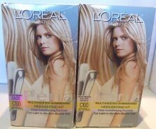 2X L'Oreal Feria Multi-Faceted Highligting Kit #C100 Extremely Light Blonde