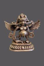 Garuda Figur Skulptur Bronze asiatischer Götterbote Asien Statue Asiatika China