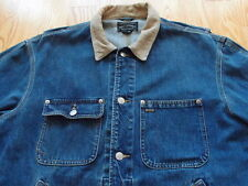Vintage Polo Country Ralph Lauren Denim Jacket Size M Made in USA Corduroy Jeans