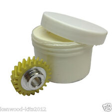 Kitchenaid Stand Mixer Worm Drive Gear W10112253 & 130g Tub Of Foodsafe Grease