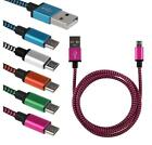 Braided Aluminum Micro USB Data&Sync Charger Cable For Android IPhone 5 5S 6 6S