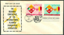 1971 Phil The Regional Conference Of The Intl. Planned Parenthood Fed. FDC - A