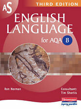 AS English Language for AQA B: Pupil Book (AS And A2 E