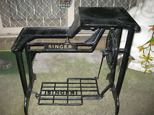 SINGER BOOT PATCHER CAST IRON/METALTREADLE SEWING MACHINE  STAND