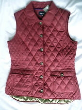 Musto Brand New Ladies Studland Quilted Gilet Barberry rrp £95