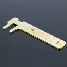 80mm Sliding Gauge Jewelers Tool Jewelry Bead Making Beading Jem Brass Caliper