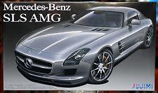 2010 Mercedes SLS AMG mit Fotoätzteilen, 1:24, Fujimi 123929