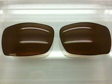 Oakley Disguise Custom Made Replacement Lenses Bronze / Brown Polarized NEW!!!