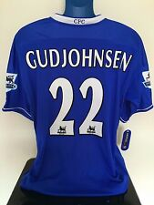 Chelsea FC GUDJOHNSEN 03/05 BNWT Home Football Shirt (XL) Soccer Jersey