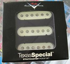 Brand New Fender Custom Shop Texas Special Strat Stratocaster Guitar Pickup Set