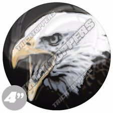 "Premium 4"" Custom Gloss Decal Sticker For Car Truck SUV Window - BALD EAGLE LT"