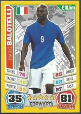 TOPPS MATCH ATTAX  BRAZIL 2014 WORLD CUP- #155-ITALY-MARIO BALOTELLI