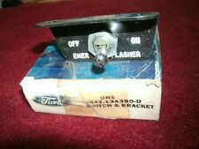 NOS 1966 FORD MUSTANG EMERGENCY WARNING SWITCH