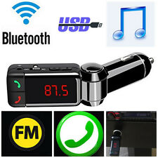 Car Universal Bluetooth Kit FM Transmitter MP3 USB Charger Mobile phone Handsfre