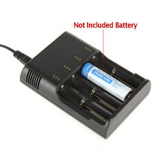 Battery Charger for 18650 26650 17670 18490 17500 17335 16340 14500 Battery
