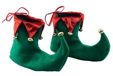 Elfo Hada Pixie GNOME medieval bufón Zapatos Fancy Dress Costume Cubiertas De Zapatos Nuevo