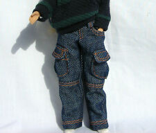 Blythe Doll Outfit Clothing Blue Color Jeans Pants