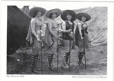 """*Postcard-""""The Nelsons---1922""""  -PERU-Circus Capital of World ... (#26)"""