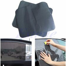 2Pcs Car Side Rear Window Sun Block Static Cling Shade Visor Shield Screen New