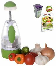Onion Chopper Slap Chop Food Vegetable Garlic Dicer Mincer Cutter Slicer New