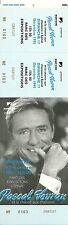 RARE / TICKET DE CONCERT - PASCAL SEVRAN LIVE A EPINAL DECEMBRE 1995 /COMME NEUF