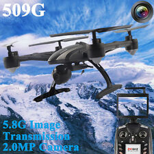 JXD 509G RC Quadcopter 5.8G Real-time FPV 2.0MP Headless Mode with Light USA