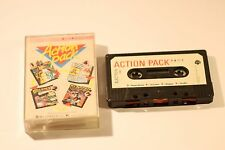 Acorn Electron Cassette Game 4 GAMES PACK NIGHT WORLD, GUARDIAN, BLAGGER SHUFFLE